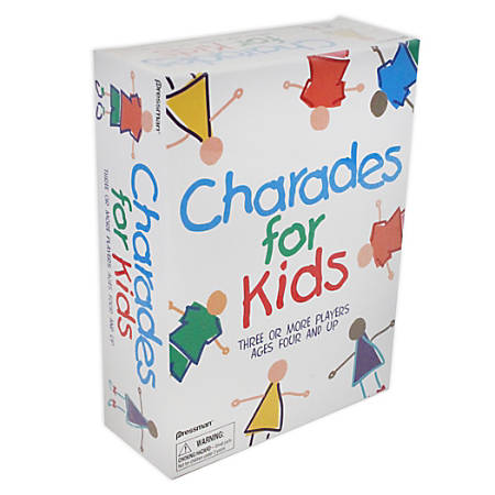 Pressman Toys The Best Of Charades For Kids, Ages 4-14