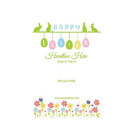 Custom Poster, Vertical, Happy Easter