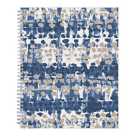 """Blue Sky™ Ariana Weekly/Monthly Frosted Planner, 8-1/2"""" x 11"""", Multicolor, January To December 2020, 116062"""