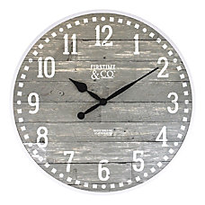 FirsTime Co Arlo Wall Clock Light