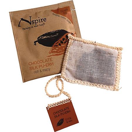 Numi Nspire Tea - Vanilla Bean, Creamy Cacao, Chocolate Silk Pu-Erh - 0.92 ozSachet - 50 / Carton