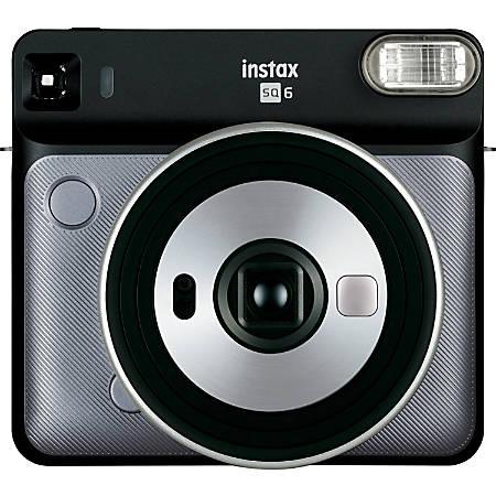 Fujifilm Instax SQUARE SQ6 Instant Camera - Instant Film - Graphite Gray