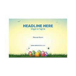 Custom Poster Horizontal Easter Eggs