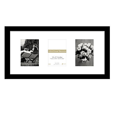 "Timeless Frames® Life's Great Moments® Frame, 10"" x 20"", Black"