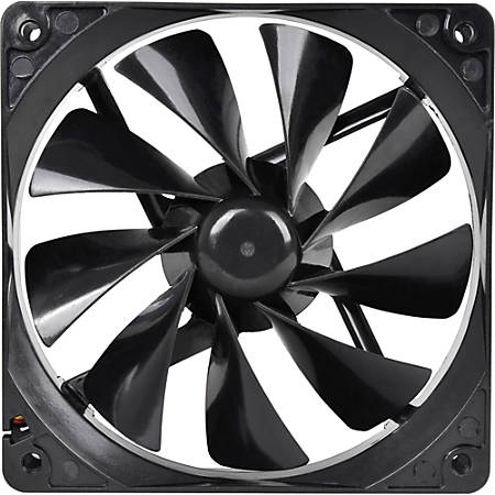 Thermaltake Pure 12 DC Fan - 1 x 120 mm - 1 x 41 CFM - Long Life Sleeve Bearing - 3-pin