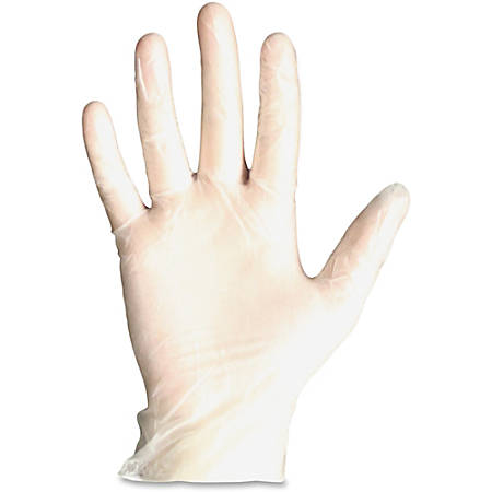ProGuard General-purpose Disposable Vinyl Gloves - X-Large Size - Vinyl - Clear - Disposable, Powdered, Beaded Cuff, Light Duty, Ambidextrous - For General Purpose, Manufacturing, Painting, Cleaning, Food - 1000 / Carton