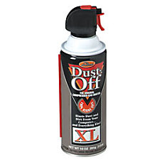 Dust Off Plus Disposable Compressed Gas