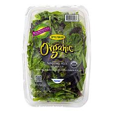 Taylor Farms Organic Baby Lettuce Spring