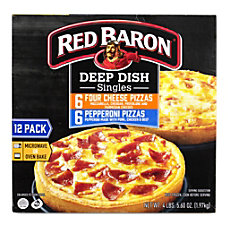 Red Baron Deep Dish Pizza Singles