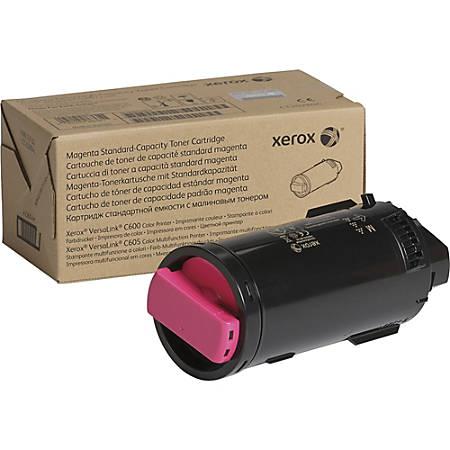 Xerox Toner Cartridge - Magenta - Laser - Standard Yield - 6000 Pages - 1 / Each