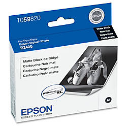 Epson T0598 T059820 UltraChrome K3 Matte