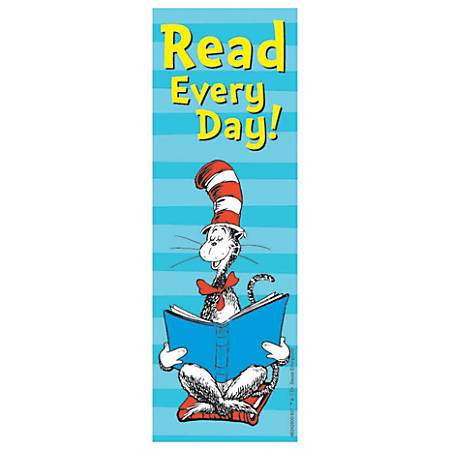 Cat in the Hat™ Read Every Day Bookmarks, Pack Of 36 Bookmarks