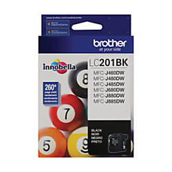 Brother LC201BKS Black Ink Cartridge