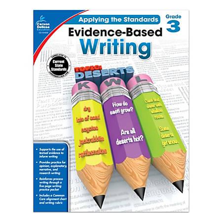 Carson-Dellosa™ Evidence-Based Writing Workbook, Grade 3