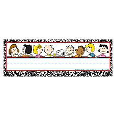 Eureka Peanuts Classic Characters Self Adhesive