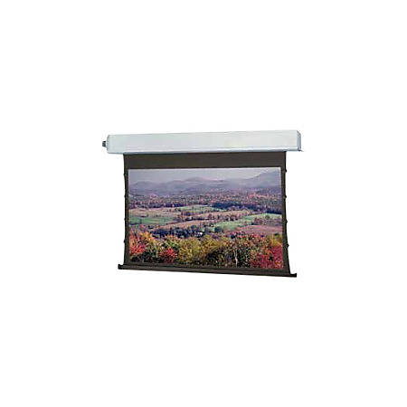 Da-Lite Tensioned Advantage Electrol Wide Format - Projection screen - ceiling mountable - motorized - 120 V - 164 in (164.2 in) - 16:10 - High Contrast Cinema Vision - white