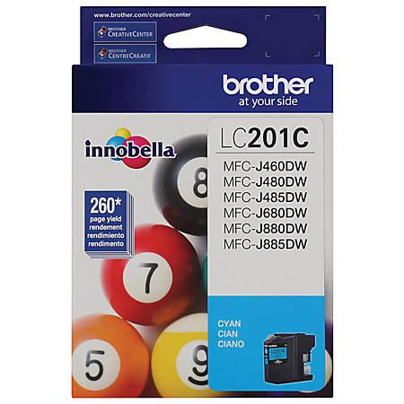 Brother® LC201C Cyan Ink Cartridge