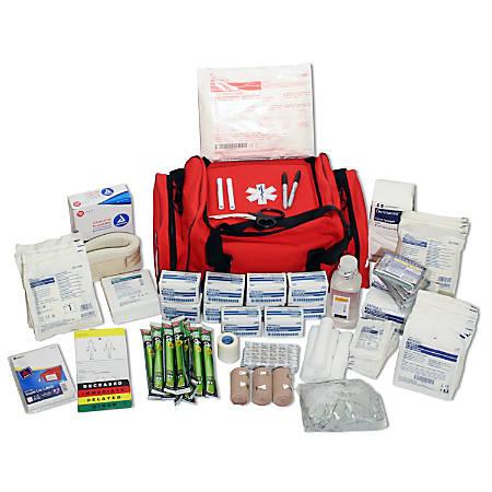 Ready America® Medical Duffel First Aid Emergency Kit, Red