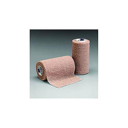 """3M™ Coban™ Self-Adherent Wrap, Non-Sterile, 6"""" x 5 Yd. (150mm x 4.5 m), Tan"""