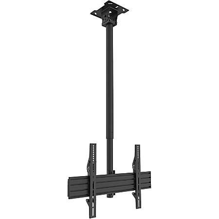 """Kanto CM600 Ceiling Mount for Flat Panel Display - Black - 1 Display(s) Supported70"""" Screen Support - 110 lb Load Capacity - 75 x 75, 600 x 400 VESA Standard"""