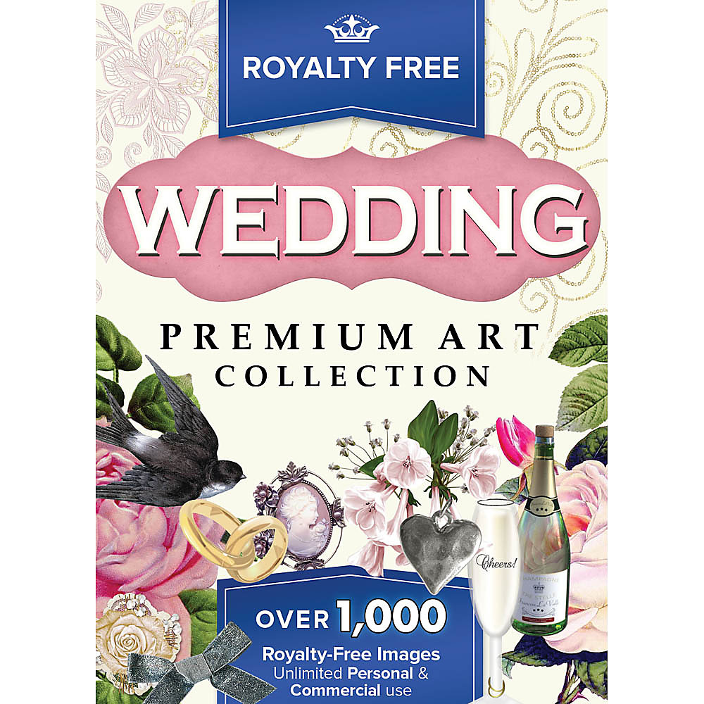 Personalize and perfect your designs with the Royalty Free Premium Wedding clip art images collection. From wedding invitations to thank you notes, dressing up projects has never been so quick and easy. Customize your wedding favors from this huge assortment of elegant images � use copyright free images with no limitations. From nostalgic Victorian to modern day chic, these royalty free high resolution images give you ultimate artistic freedom. You�ll be amazed at what you can do with these stunning bridal images whether your style is traditional white wedding or modern day chic