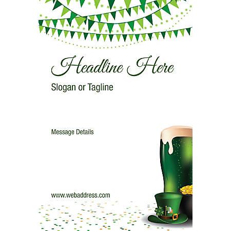 Custom Banner, Vertical, St. Patrick's Bunting