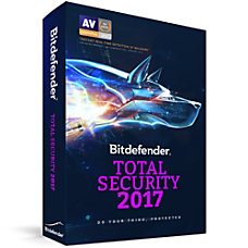Bitdefender Total Security 2017 10 Users