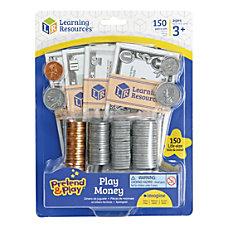 Pretend Play Play Money 150 Pieces