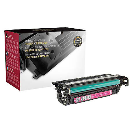 Clover Imaging Group 200786P Remanufactured Toner Cartridge Replacement For HP 654A Magenta