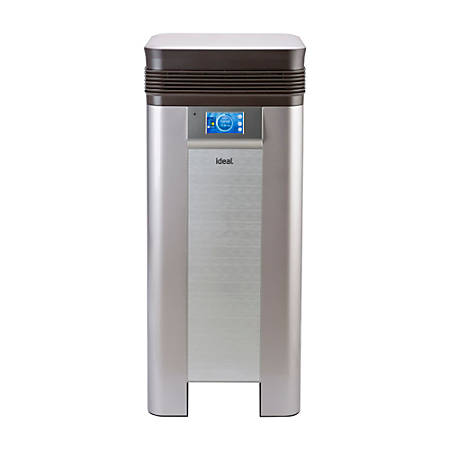"""ideal.™ AP100 Healthcare Edition 7 Stage Filtration Antimicrobial Air Purifier, 1,000 Sq Ft, 17""""Hx 17""""Wx39.8""""D"""