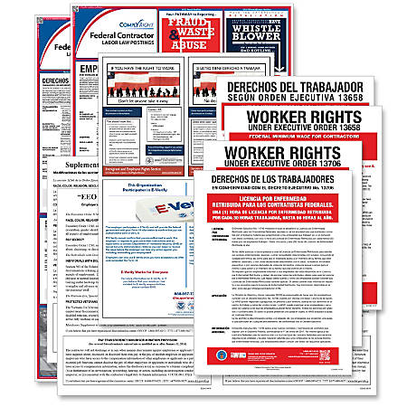 ComplyRight Federal Contractor Poster Subscription Service, Bilingual
