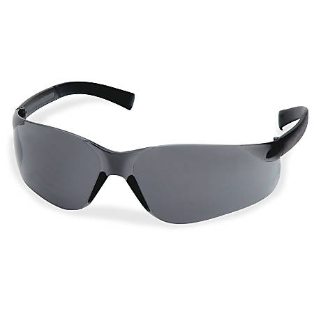 ProGuard Fit 821 Smaller Safety Glasses - Ultraviolet Protection - Polycarbonate Lens - Gray, Gray - 1 Each