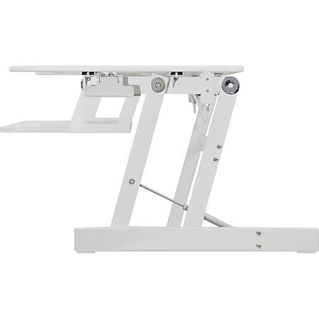 Lorell® Sit-To-Stand Desk Riser Plus, White