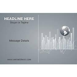 Adhesive Sign Business Globe Horizontal