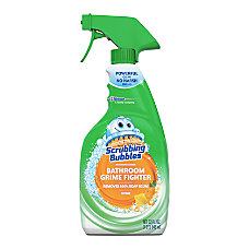 Scrubbing Bubbles Foaming Disinfectant Bathroom Cleaner