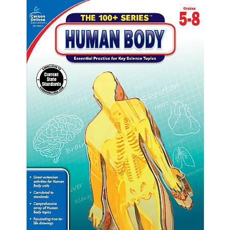 Carson-Dellosa Human Body Workbook, Grades 5-8