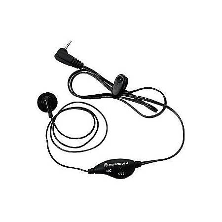 Motorola® 53727 Wired Earbud, Black