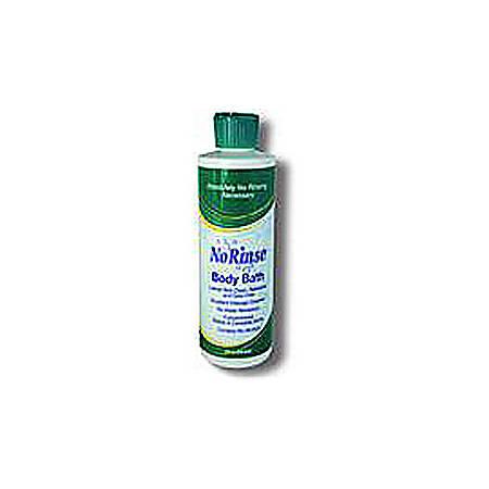 No-Rinse® Body Bath With Odor Eliminator, 8 Fl. Oz. Bottle