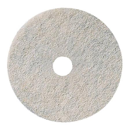 """Niagara™ Burnishing Floor Pads, 3300N , 20"""", White, Pack Of 5"""