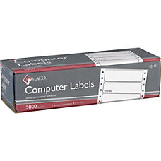 MACO High Speed Data Processing Labels