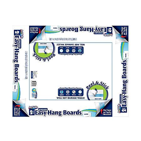 "Artskills® Self-Stick Boards, 22"" x 28"", White, Pack Of 2"