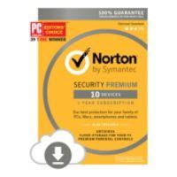 Deals on Symantec Norton Security with Antivirus Premium 10 Devices