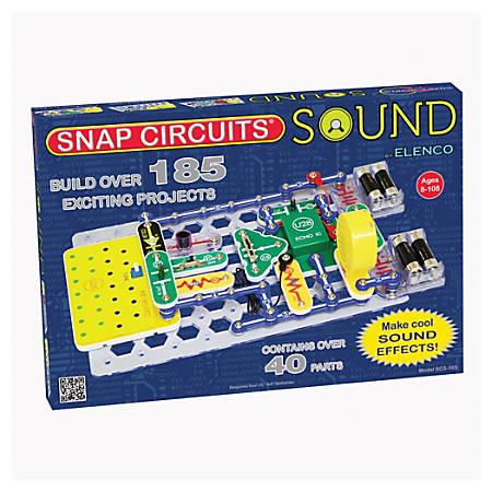 "Elenco Electronics Snap Circuits® Sound Kit, 13 /14""H x 20""W x 19 1/2""D, Grades 3-12"