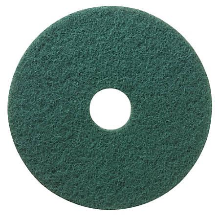 """Niagara™ Scrubbing Floor Pads, 5400N, 20"""", Green, Pack Of 5"""
