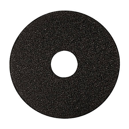 "Niagara™ 7200N Stripping Floor Pads, 17"", Black, Pack Of 5"