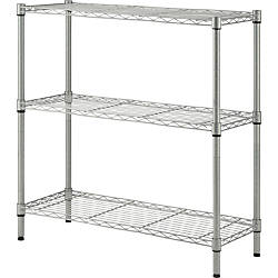 Lorell Light Duty Wire Shelving 3