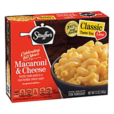Stouffers Classics Macaroni And Cheese 12