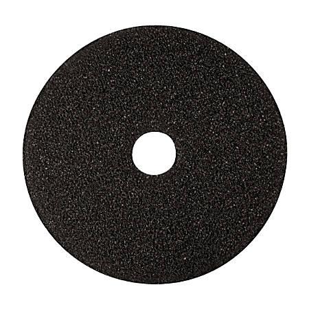 """Niagara™ 7400N Stripping Floor Pad, High-Performance, 19"""" Diameter, Black, Pack Of 5"""