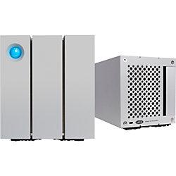 LaCie 2big 8TB External Hard Drive, Thunderbolt 2