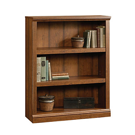 Sauder® Select Bookcase, 3 Shelf, Washington Cherry